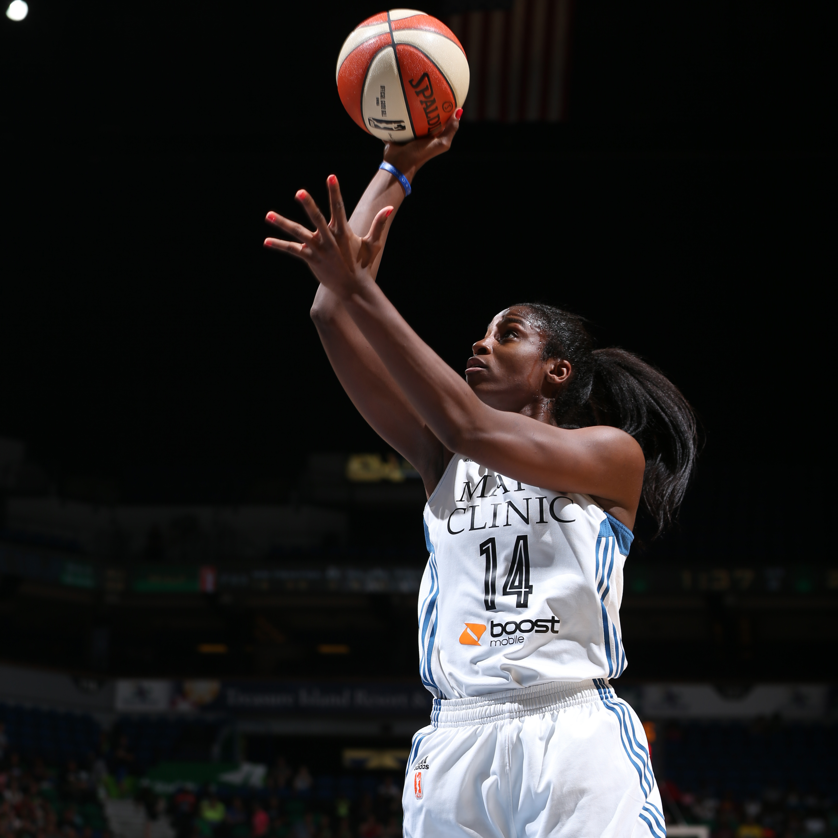 Lynx forward Devereaux Peters had another solid all-around game off the bench, scoring five points to go with her four rebounds and four blocked shots. It was the second game in a row that Peters has blocked four or more shots.