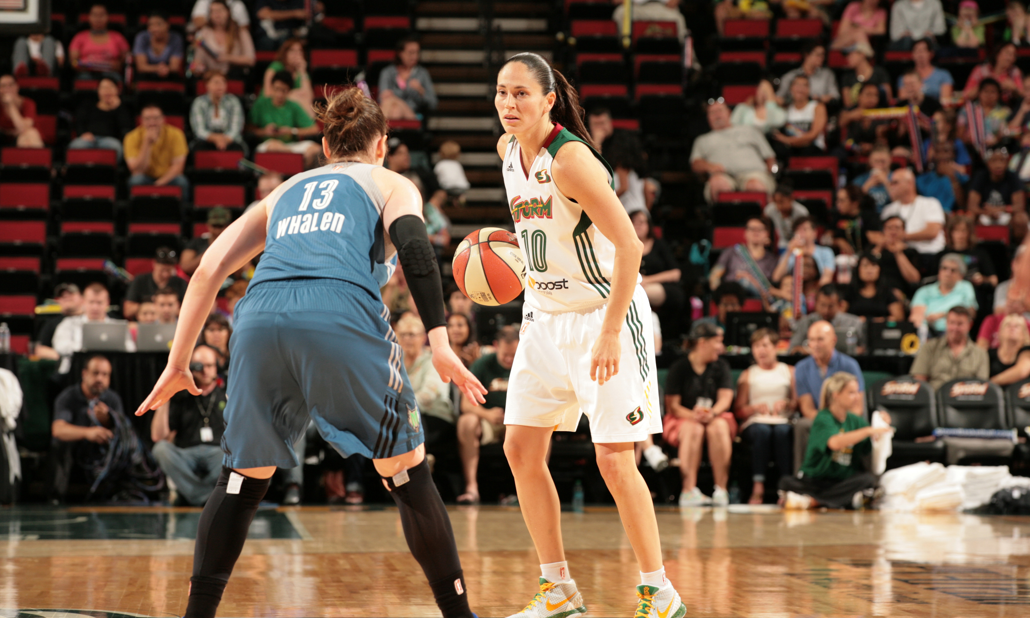 Storm veteran guard Sue Bird did her best to lead her team to a win, but ultimately fell short. Bird scored 16 points to go with her four rebounds and five assists.