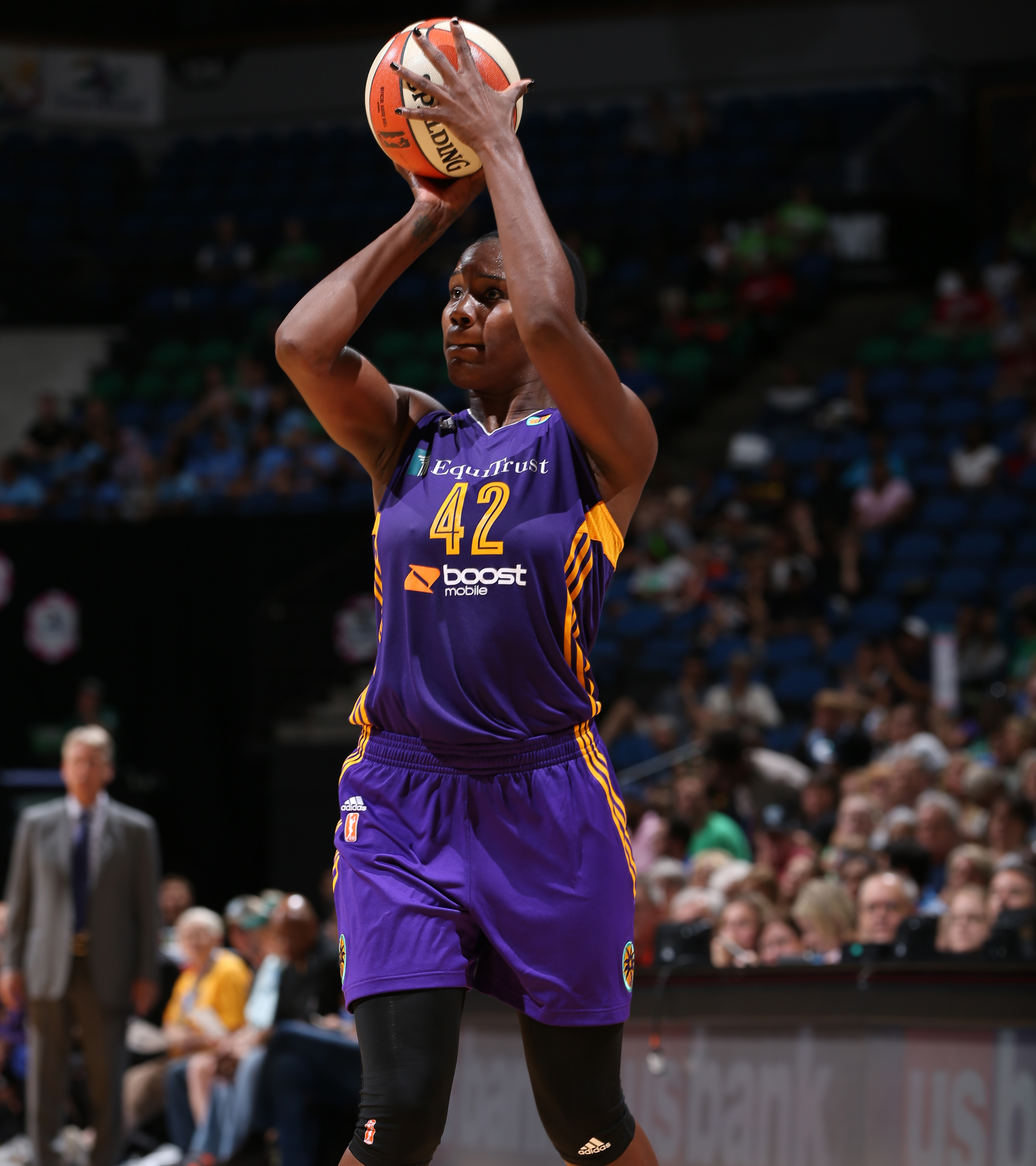 As good as the Minnesota Lynx played defensively that night, they could not find an answer for Sparks center Jantel Lavender. Lavender finished with 15 points on 7-of-10 shooting and grabbed 10 rebounds as well.