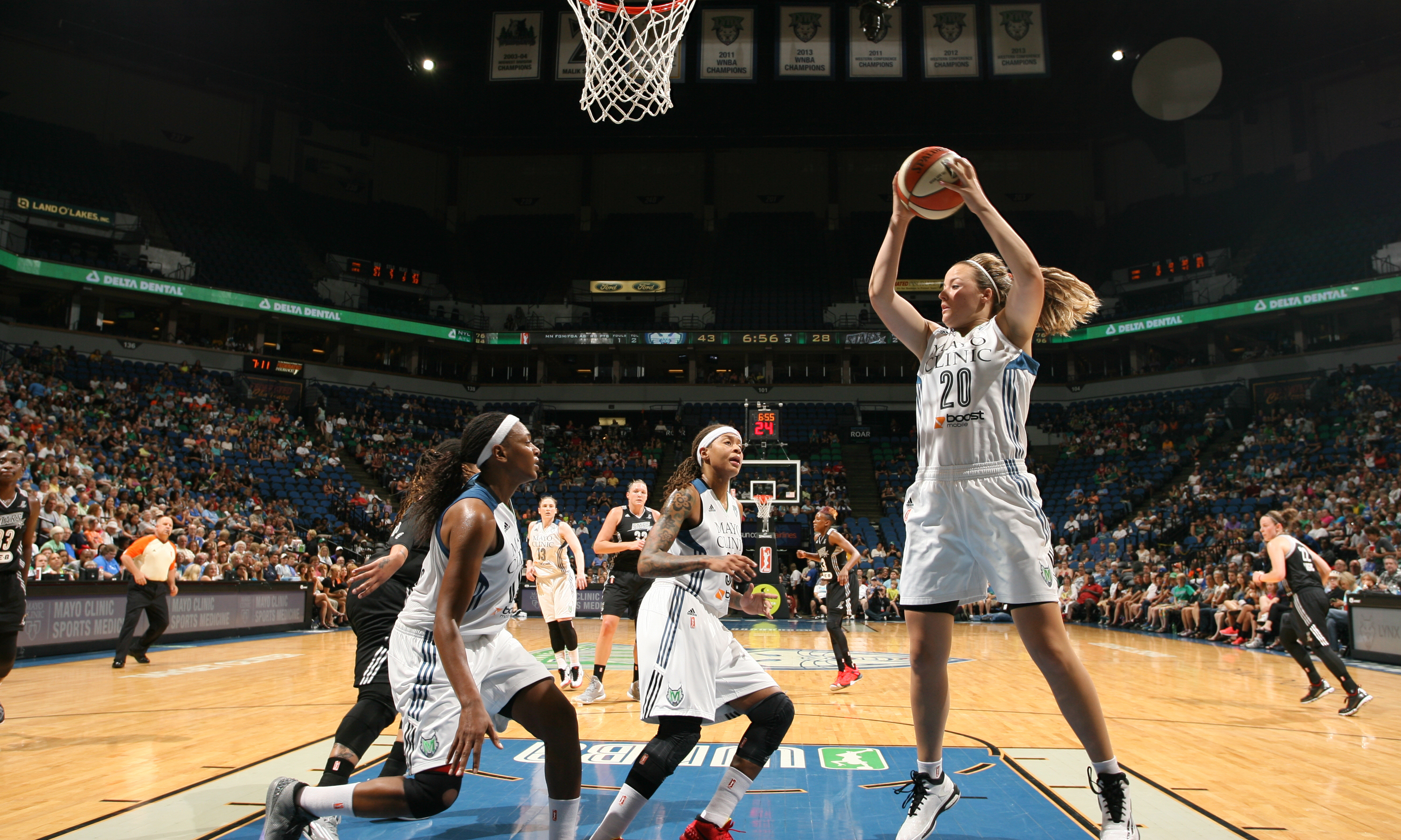 Lynx guard Tricia Liston had a solid game off the bench, providing many quality minutes for the team. Liston finished with six points, four rebounds and three assists.