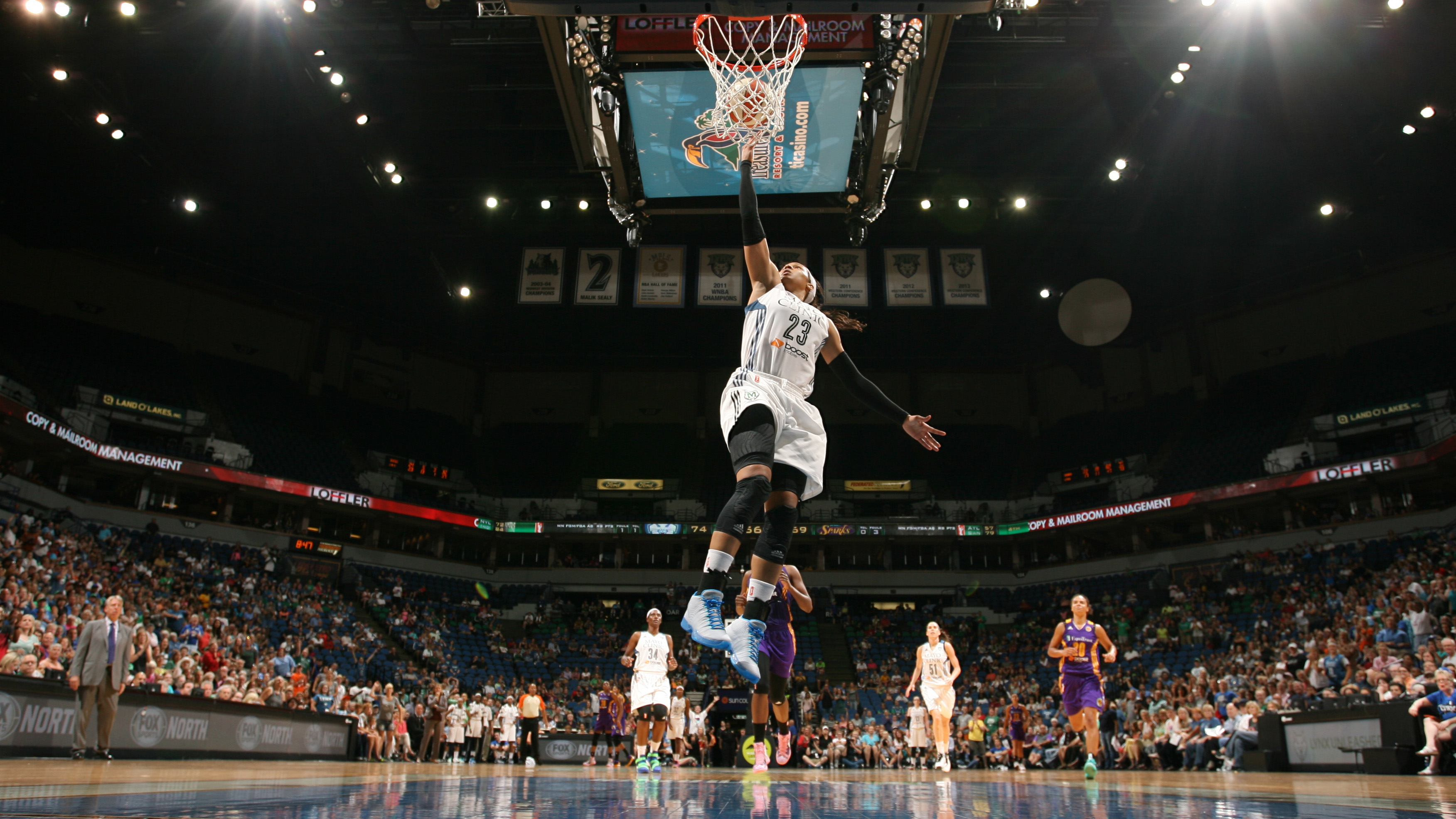 Lynx forward Maya Moore had another MVP-type performance, scoring 27 points, grabbing seven rebounds and snatching three steals.