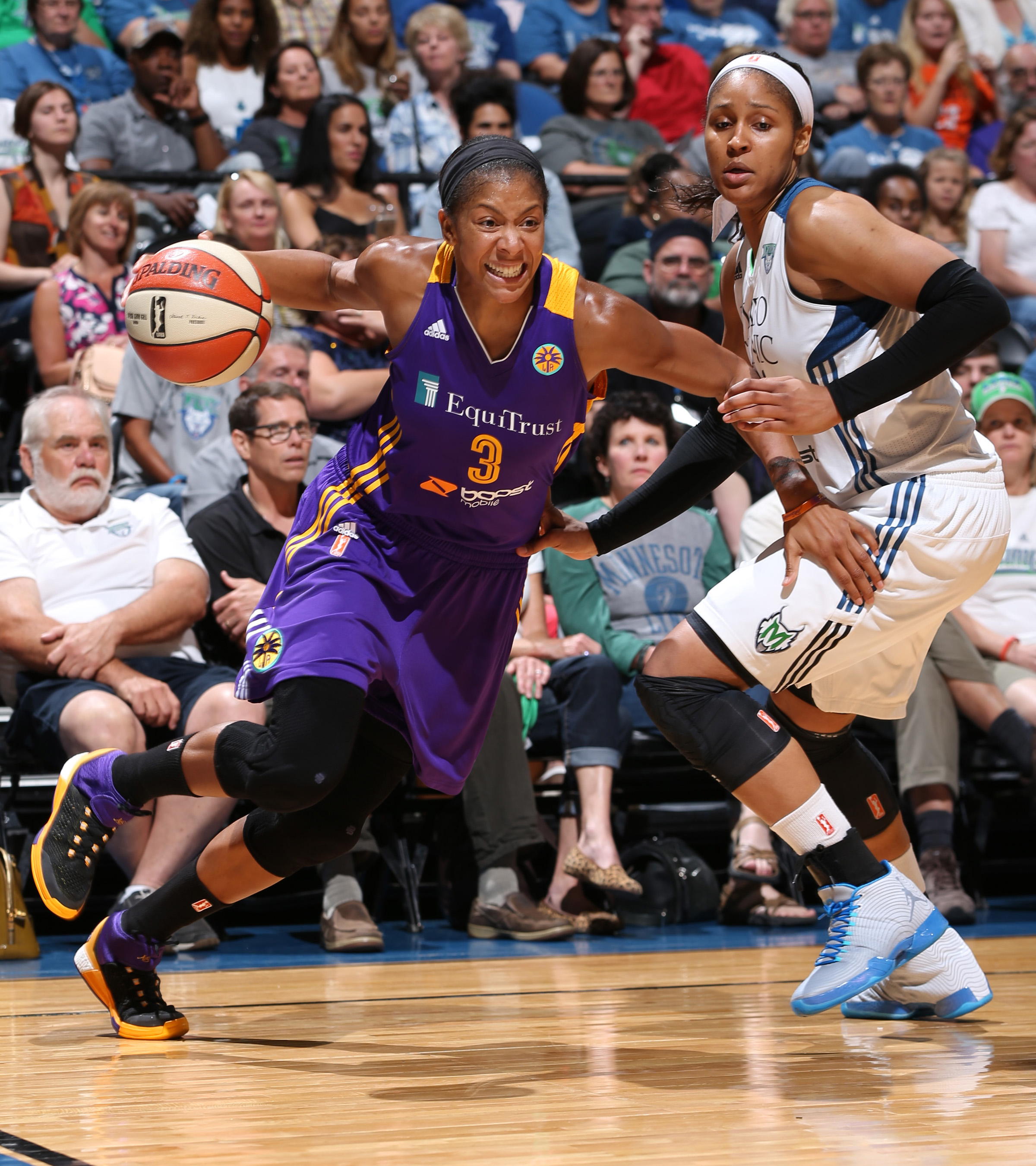 Sparks forward Candace Parker made her season deubt on July 29 after sitting out the first half of the season to rest. Parker played well, finishing just shy of a triple-double: 12 points, seven rebounds and nine assists in a Sparks' loss.