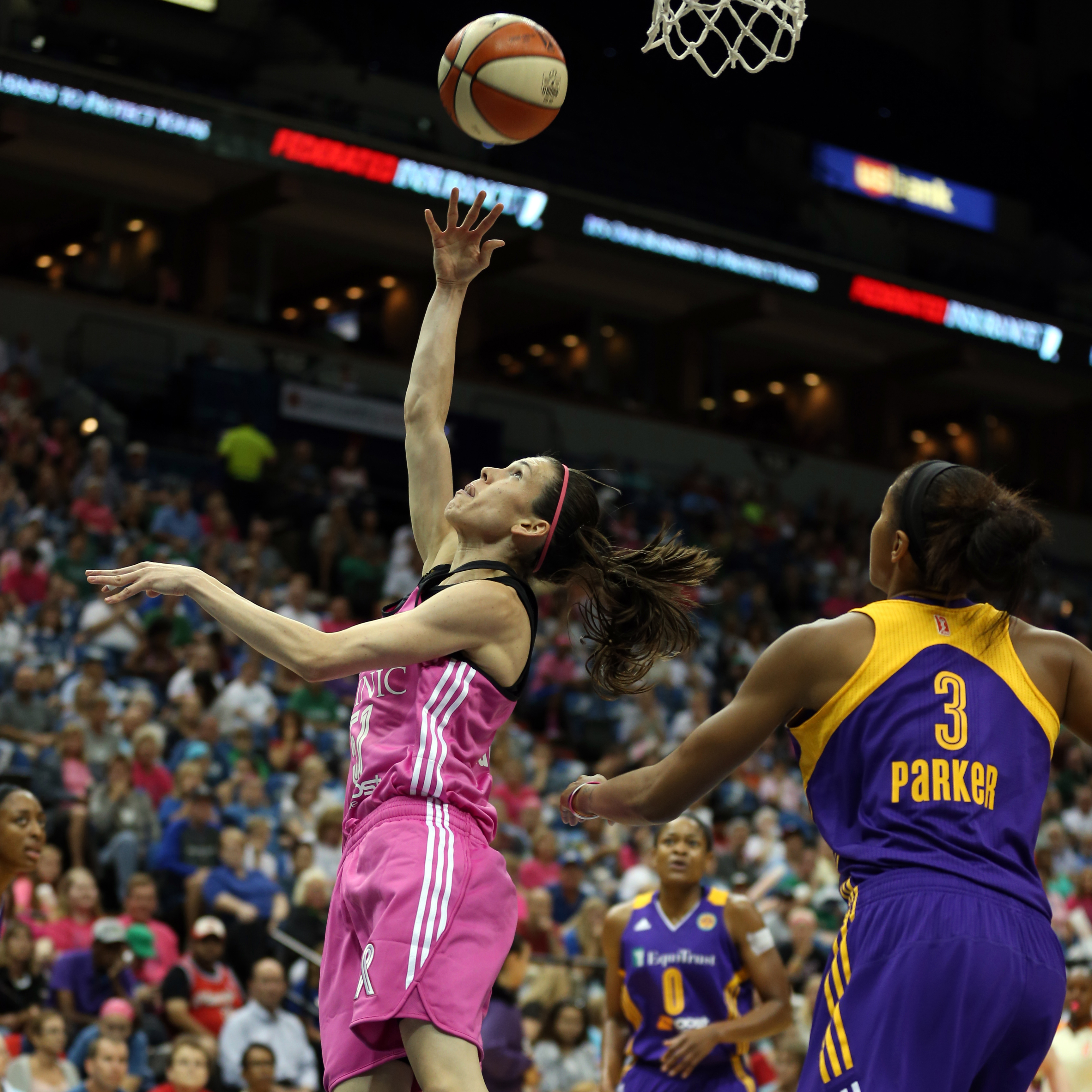 Lynx guard Anna Cruz failed to get going offensively, finishing with just four points on 2-of-6 shooting (33 percent), but played great defense and helped to contain the Sparks' dangerous guards.