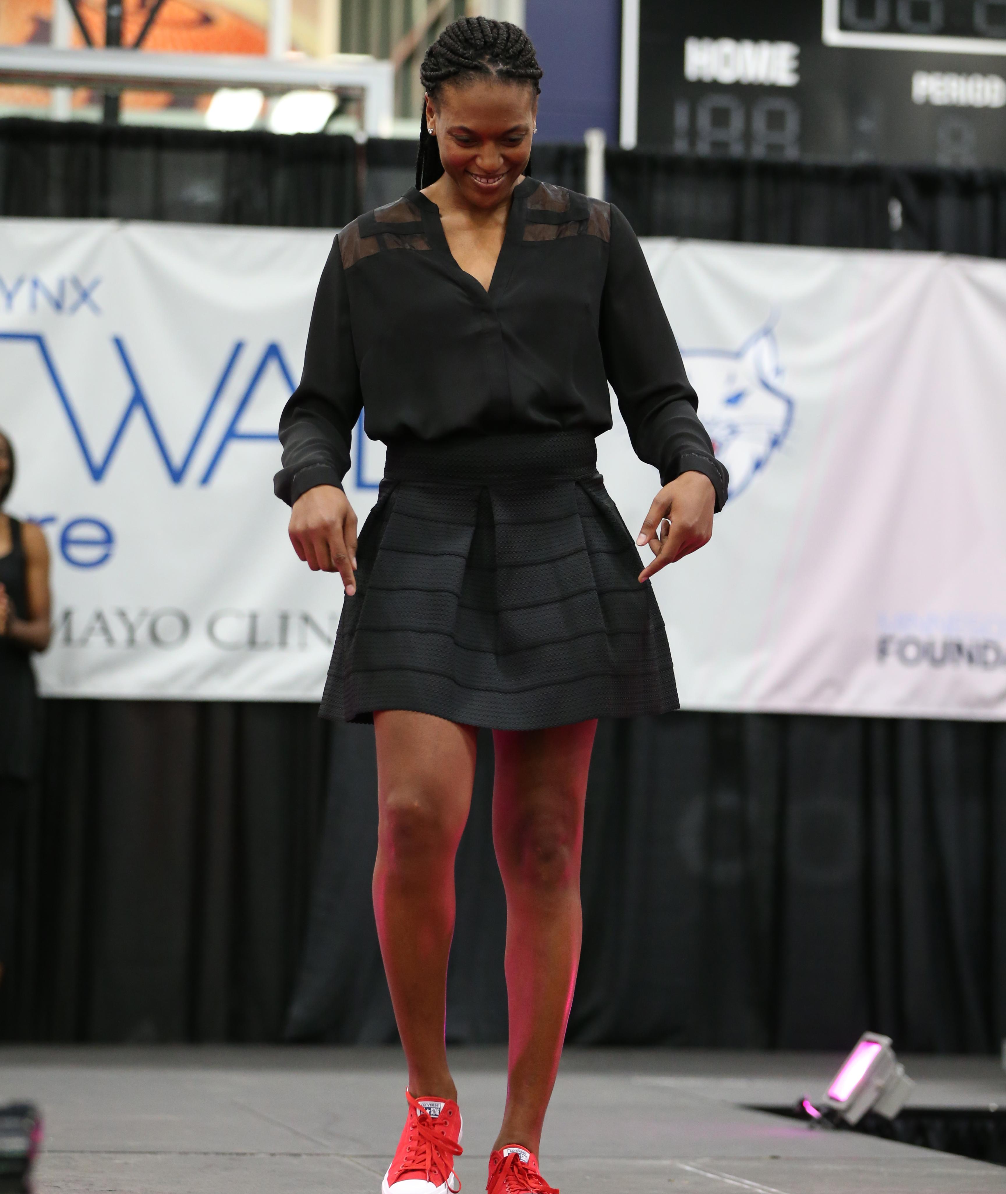 Lynx forward Asjha Jones
