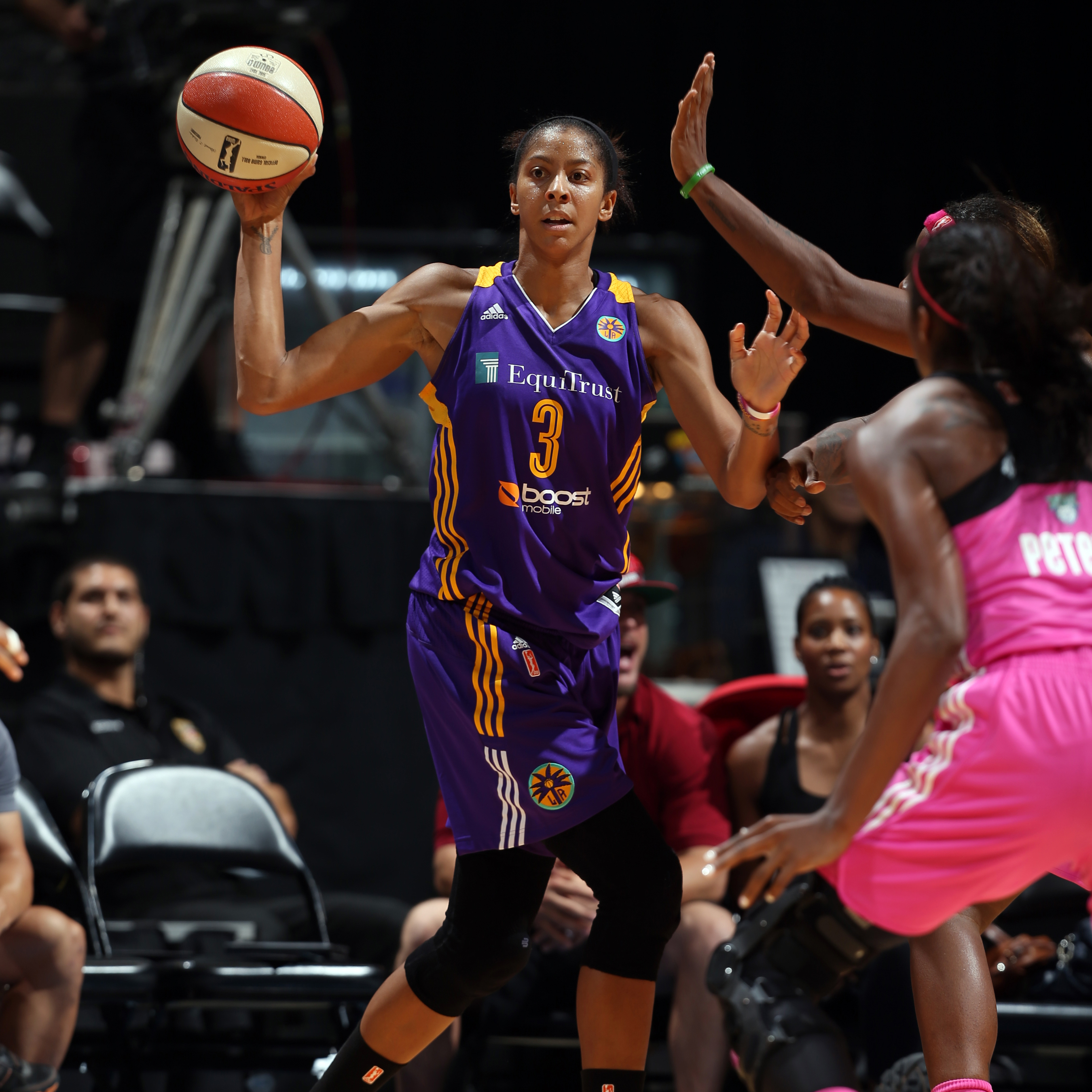 Sparks forward Candace Parker continues to do it all for Los Angeles, helping her team in multiple areas every single night. Against the Lynx, Parker finished with 10 points, eight rebounds, six assists, two steals and three blocked shots.