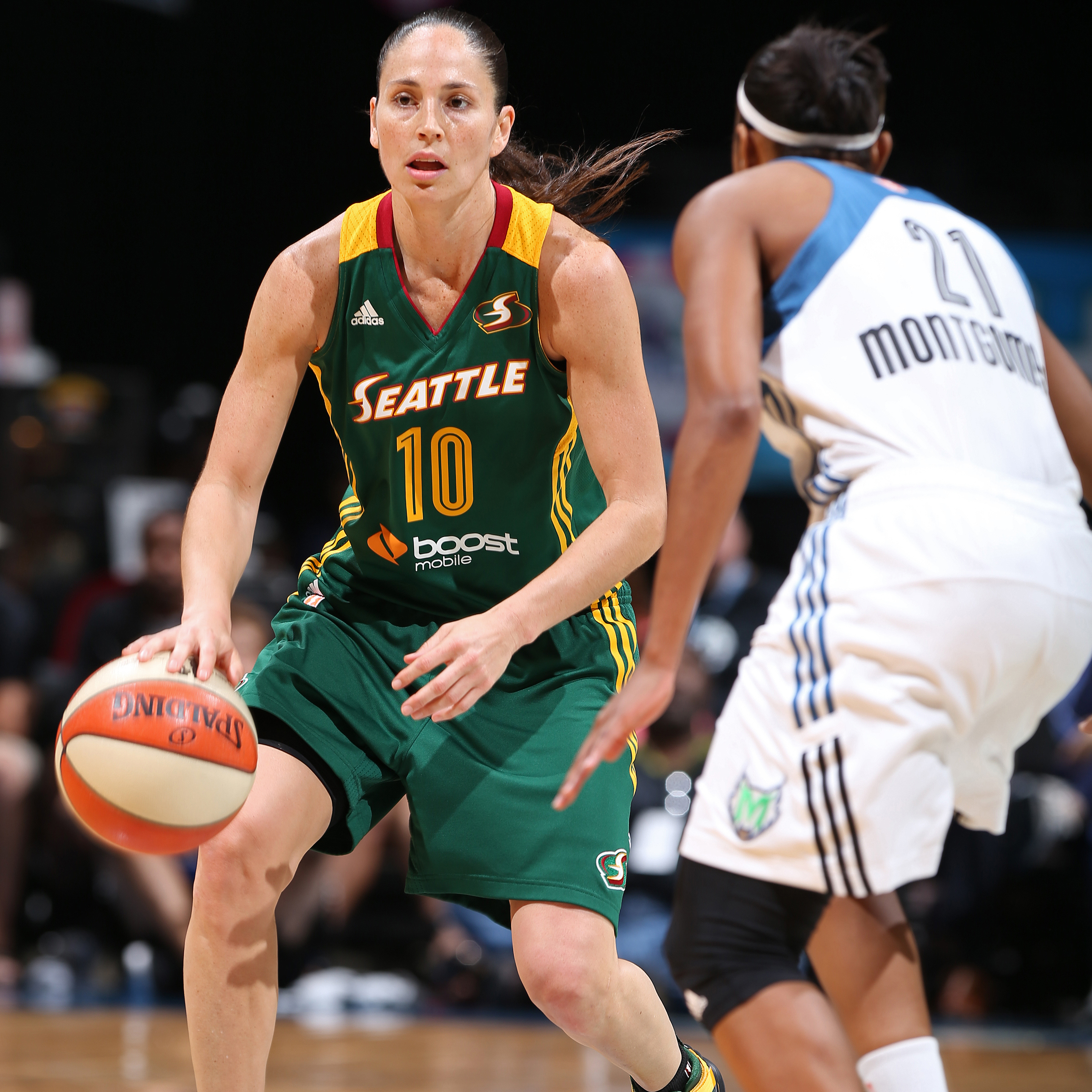 Veteran guard Sue Bird had a quiet night - by her standards at least - against the Lynx, finishing with seven points, eight assists and two steals.