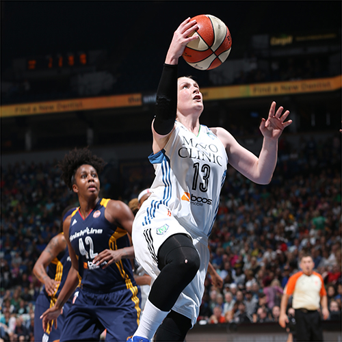 MINNEAPOLIS, MN - OCTOBER 6:  Lindsay Whalen #13 of the Minnesota Lynx shoots the ball against the Indiana Fever during Game Two of the 2015 WNBA Finals on October 6, 2015 at Target Center in Minneapolis, Minnesota.  NOTE TO USER: User expressly acknowledges and agrees that, by downloading and or using this Photograph, user is consenting to the terms and conditions of the Getty Images License Agreement. Mandatory Copyright Notice: Copyright 2015 NBAE (Photo by David Sherman/NBAE via Getty Images)